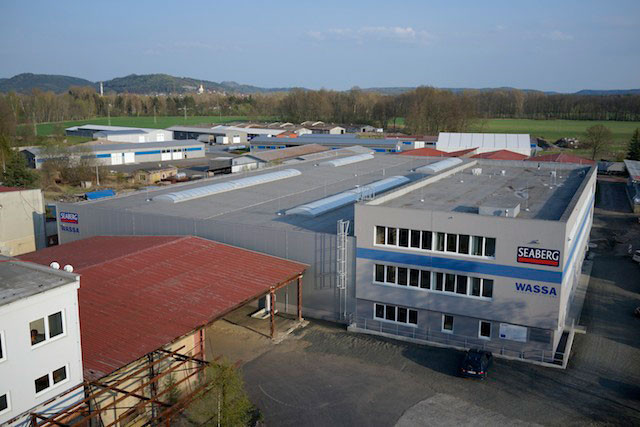Production and warehouse premises Příšovice